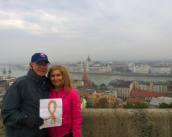Mike and Cynthia in Budapest, Hungary