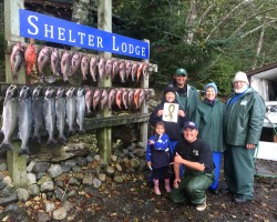 HNC Support fishing excursion